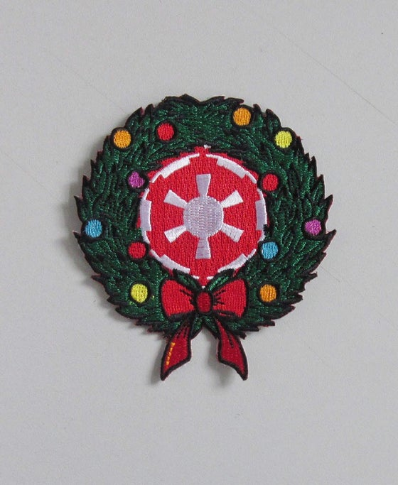 "Image of Imperial Wreath 3.5"" Patch INSTOCK"