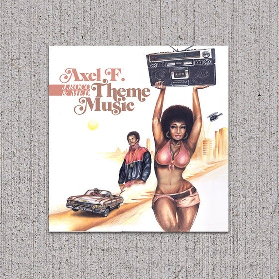 Image of Axel F. - Theme Music CD