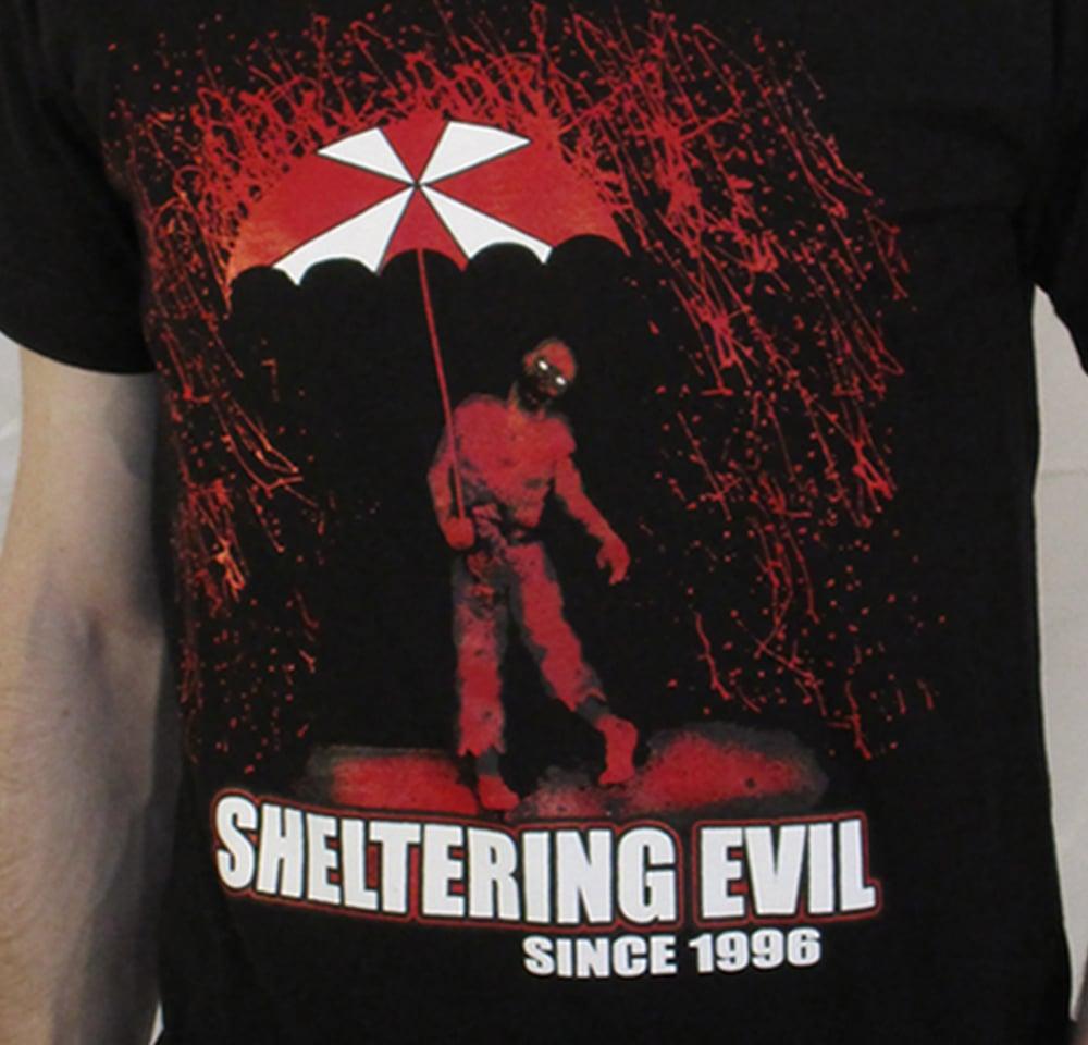 """""""Sheltering Evil"""" Black Unisex Tee"""