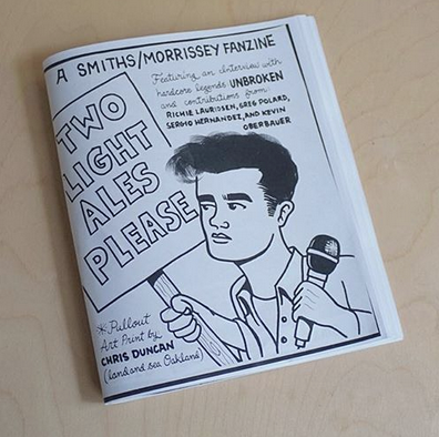 Image of Two Light Ales Please (Smiths/Morrissey fanzine) - Volume I