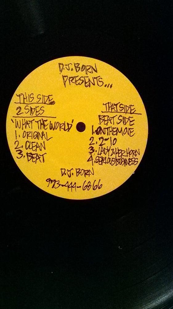 "Image of DJ Born EP - ""DJ Born presents""..."