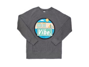 Image of Beach (Heather Grey Sweatshirt)