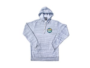 Image of Beach Pocket (Light Grey Marble Sweatshirt)