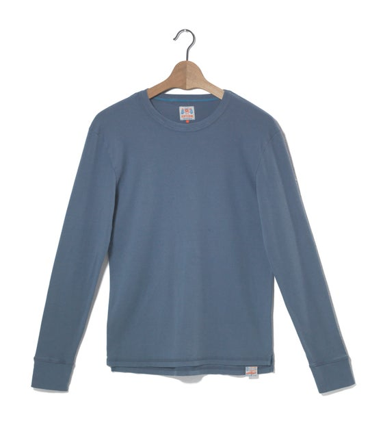 Image of Crew Neck 1/1 Blue