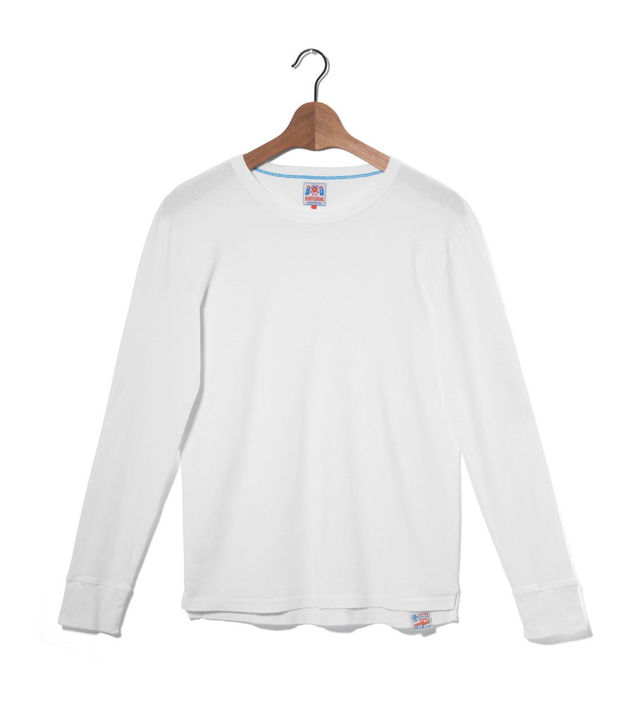 Image of Crew Neck 1/1 White