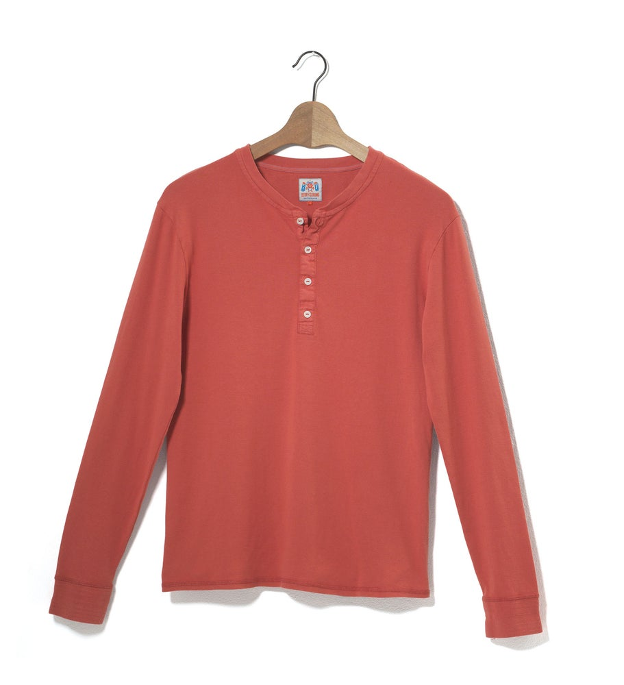 Image of Henley 1/1 Red