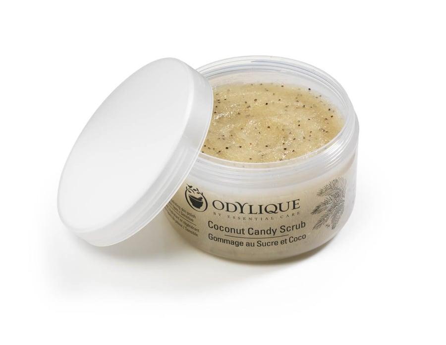 Image of Coconut Candy Scrub - Odylique 175 g. 98 % Økologisk.