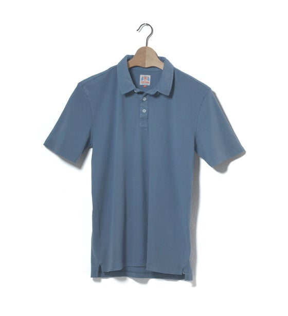 Image of Polo 1/4 Blue