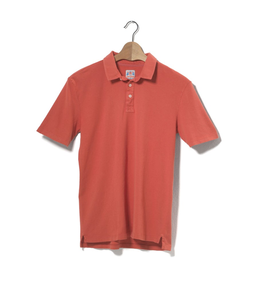 Image of Polo 1/4 Red
