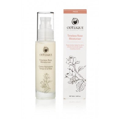 Image of Timeless Rose Moisturiser - Odylique 50 ml.