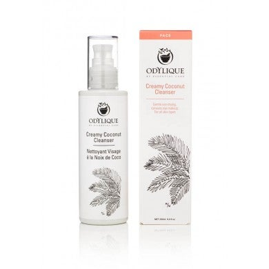 Image of Creamy Coconut Cleanser - Odylique 200 ml.