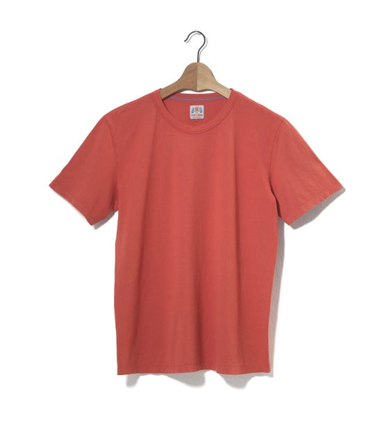 Image of Crew Neck 1/4 Red