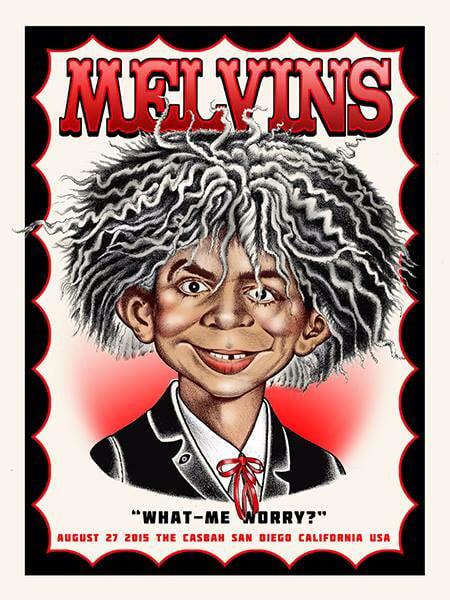 Image of Melvins - 8/27/15 @ Casbah San Diego