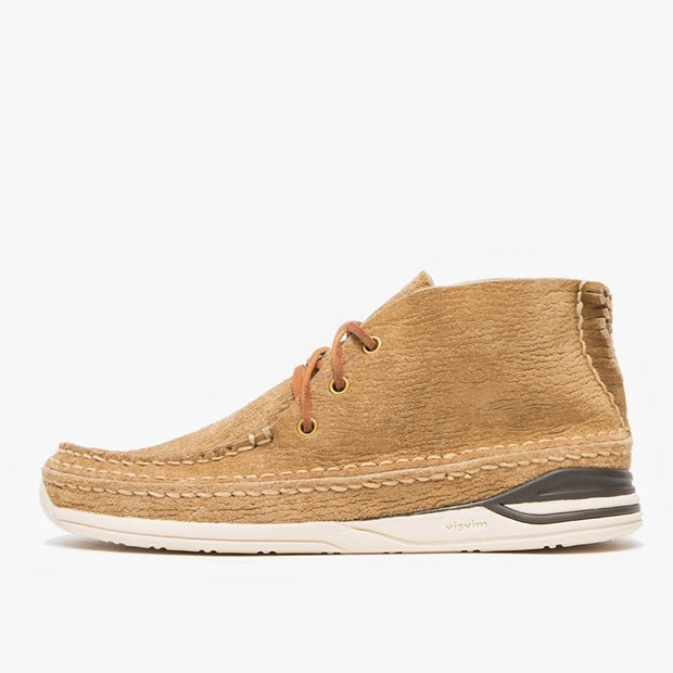 Image of visvim VOYAGEUR MOC-FOLK - LT. BROWN