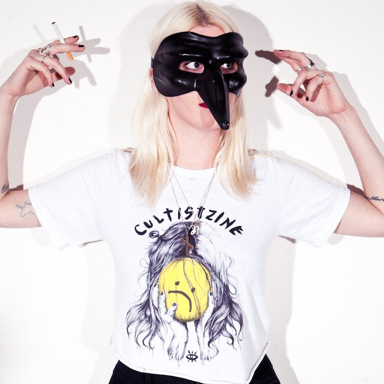 Image of Cultist x Esra Røise 'Melon Head' T-Shirt