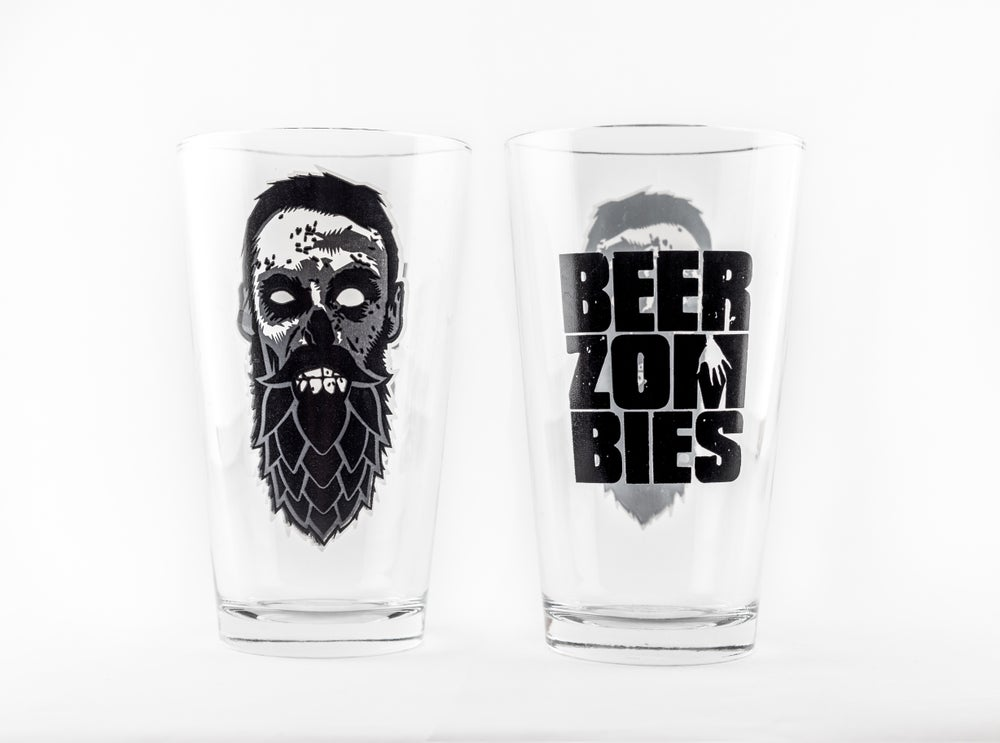 Beer Zombies Pint Glass