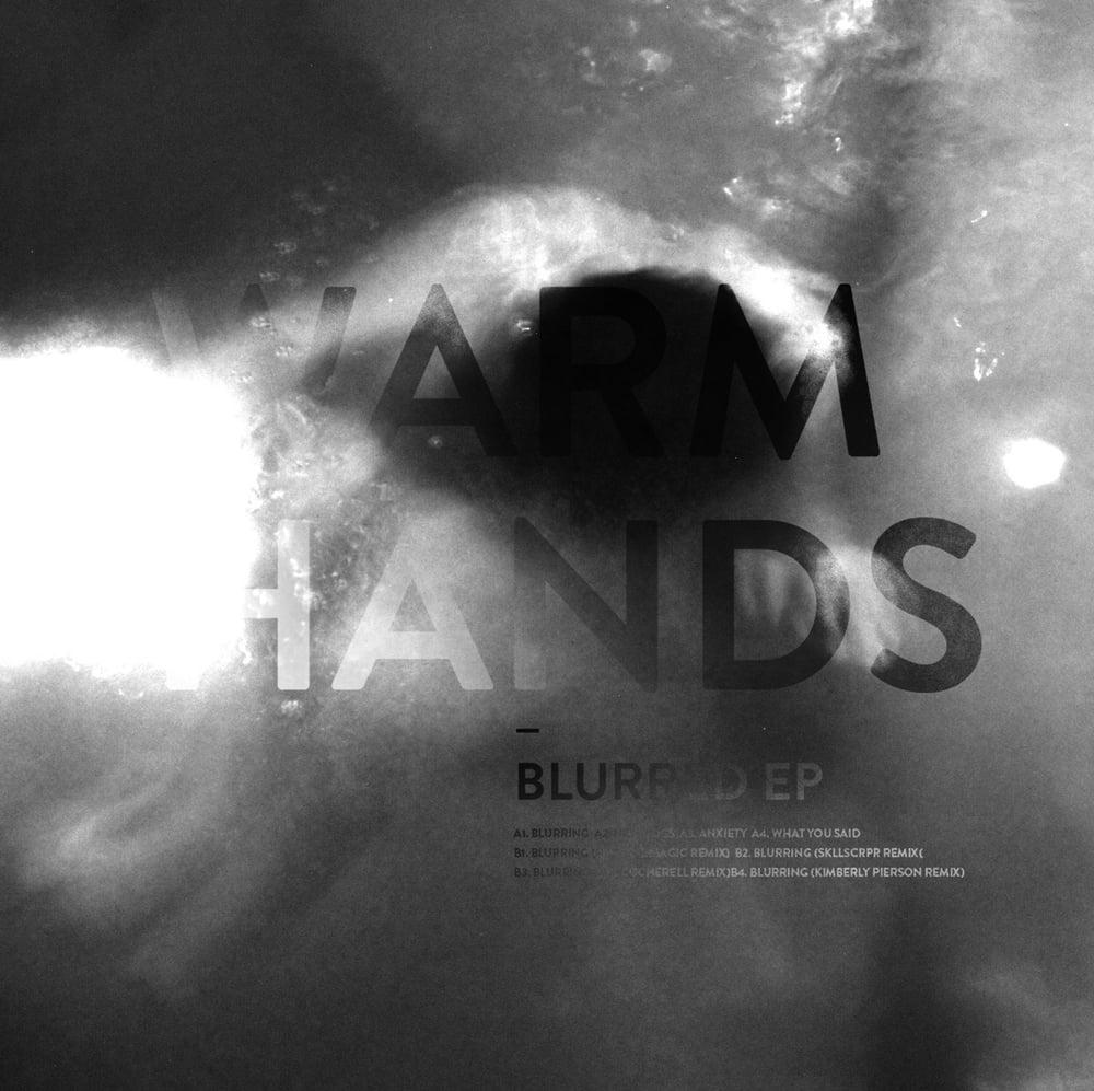 "Image of Warm Hands ""Blurred EP"" Black Vinyl 12"""