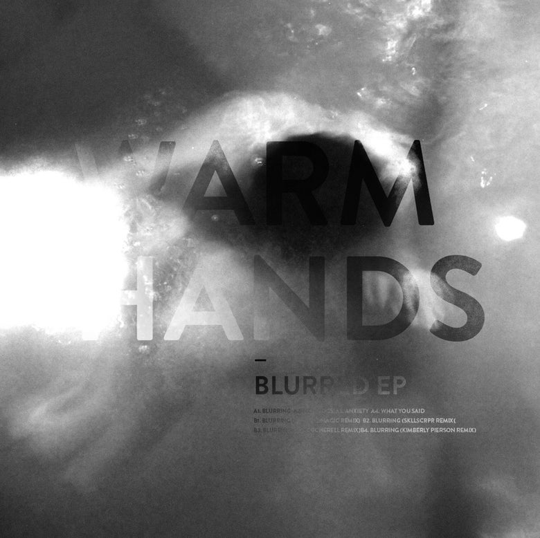 "Image of Warm Hands ""Blurred EP"" Black Vinyl 12"""
