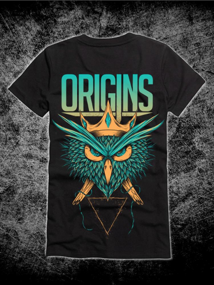 Image of Origins Owl Tee *PREORDER*