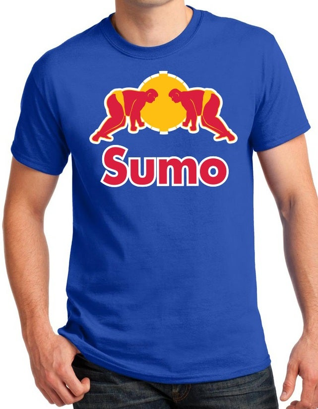 "Image of ""Red Sumo/Sumo Bull"" T-Shirt"