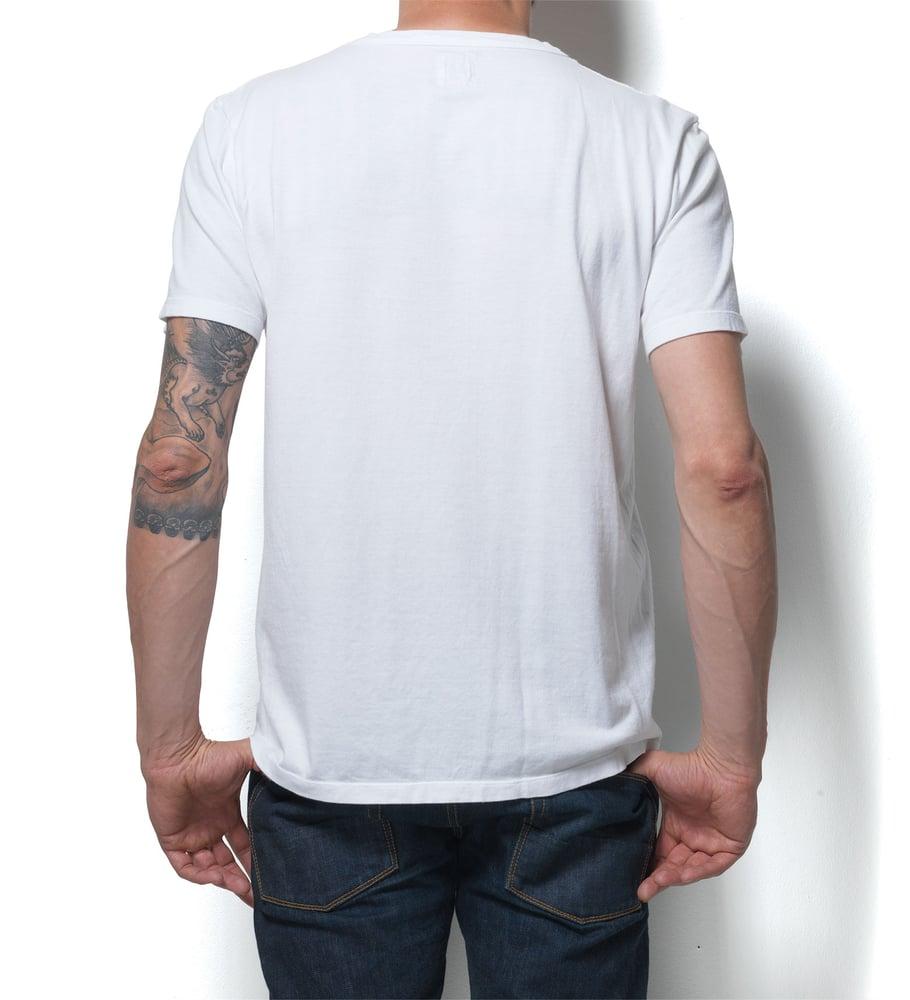 Image of V-Neck 1/4 Off White