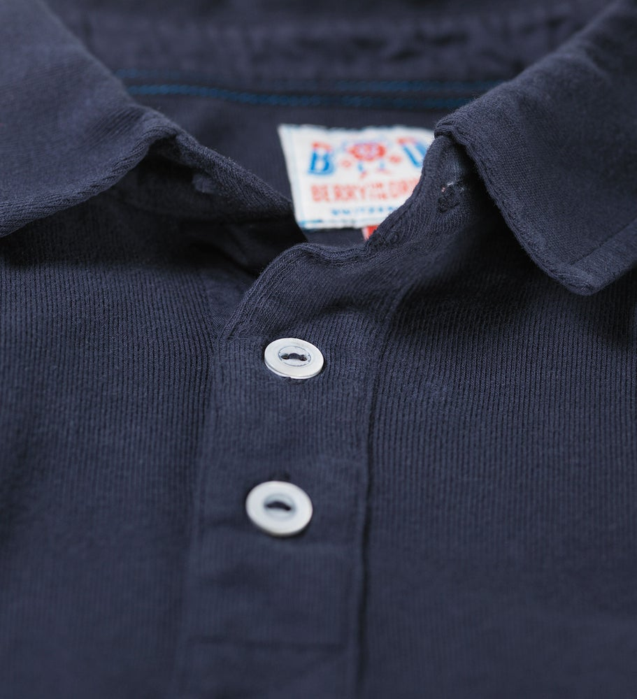 Image of Polo 1/4 Navy