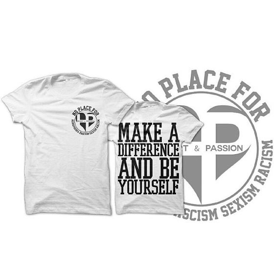 "Image of H&P - ""Make A Difference"" SHIRT"