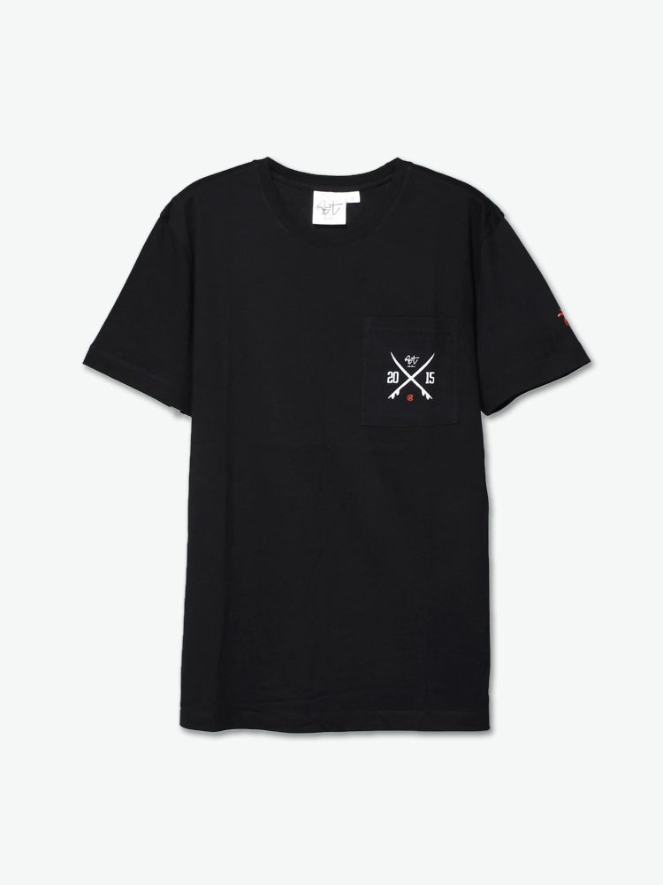 Image of CLOT (Clottee) - Logo Pocket Tee (Black)