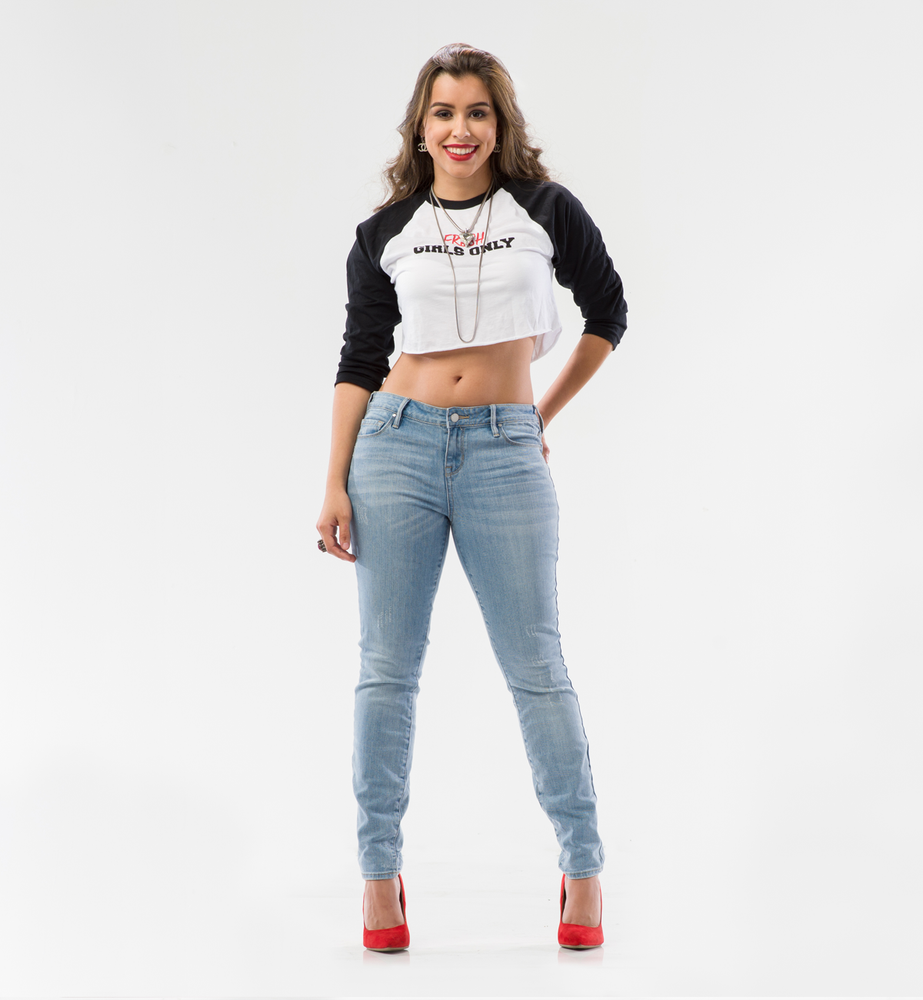 Image of Fresh Girls Raglan Crop