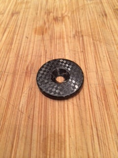 Image of Veloflyte Superlight Carbon fibre top cap.