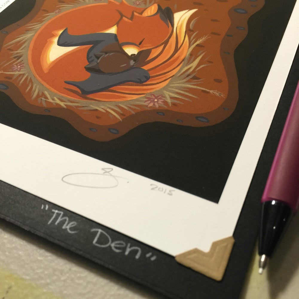 Image of 'The Den' - Lithograph Print