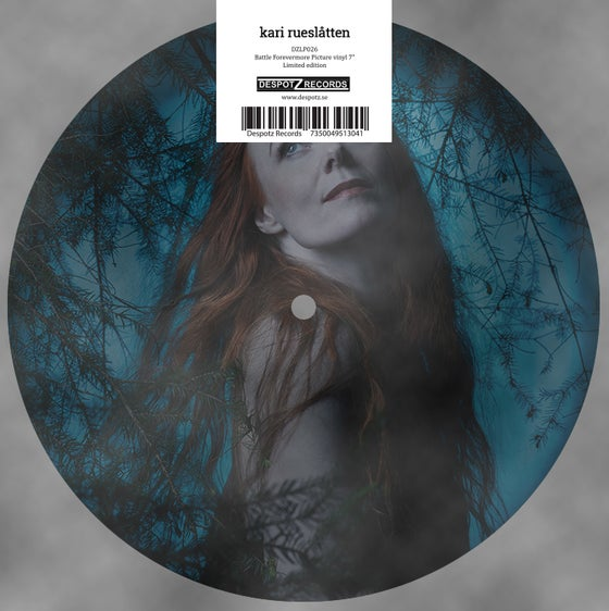"Image of Kari Rueslåtten - Battle Forevermore (7"" LP Picture Disc)"