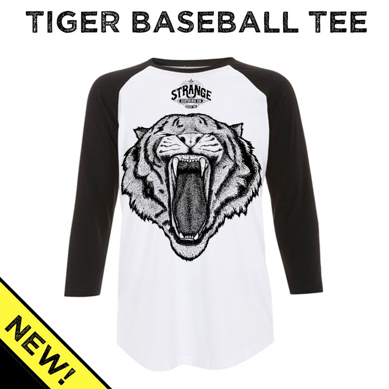 Image of Tiger Baseball Tee