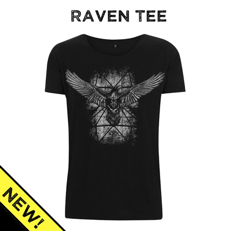 Image of Strange Raven Tee - Wide-neck