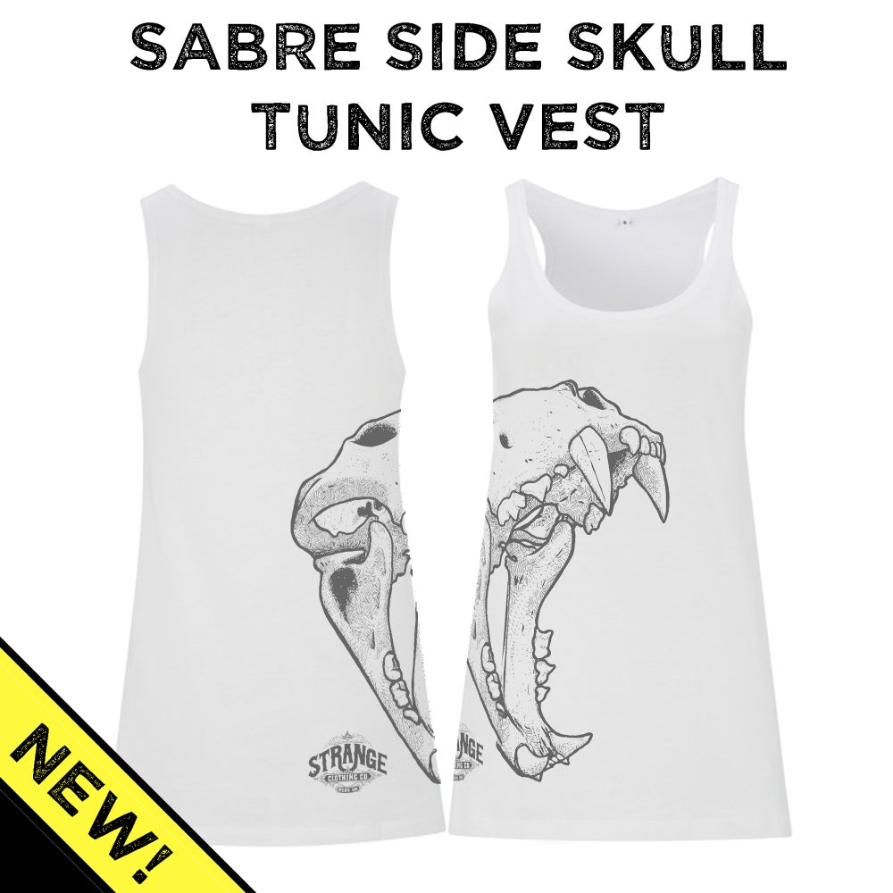 Image of Sabre Skull Tunic Vest - Sideprint
