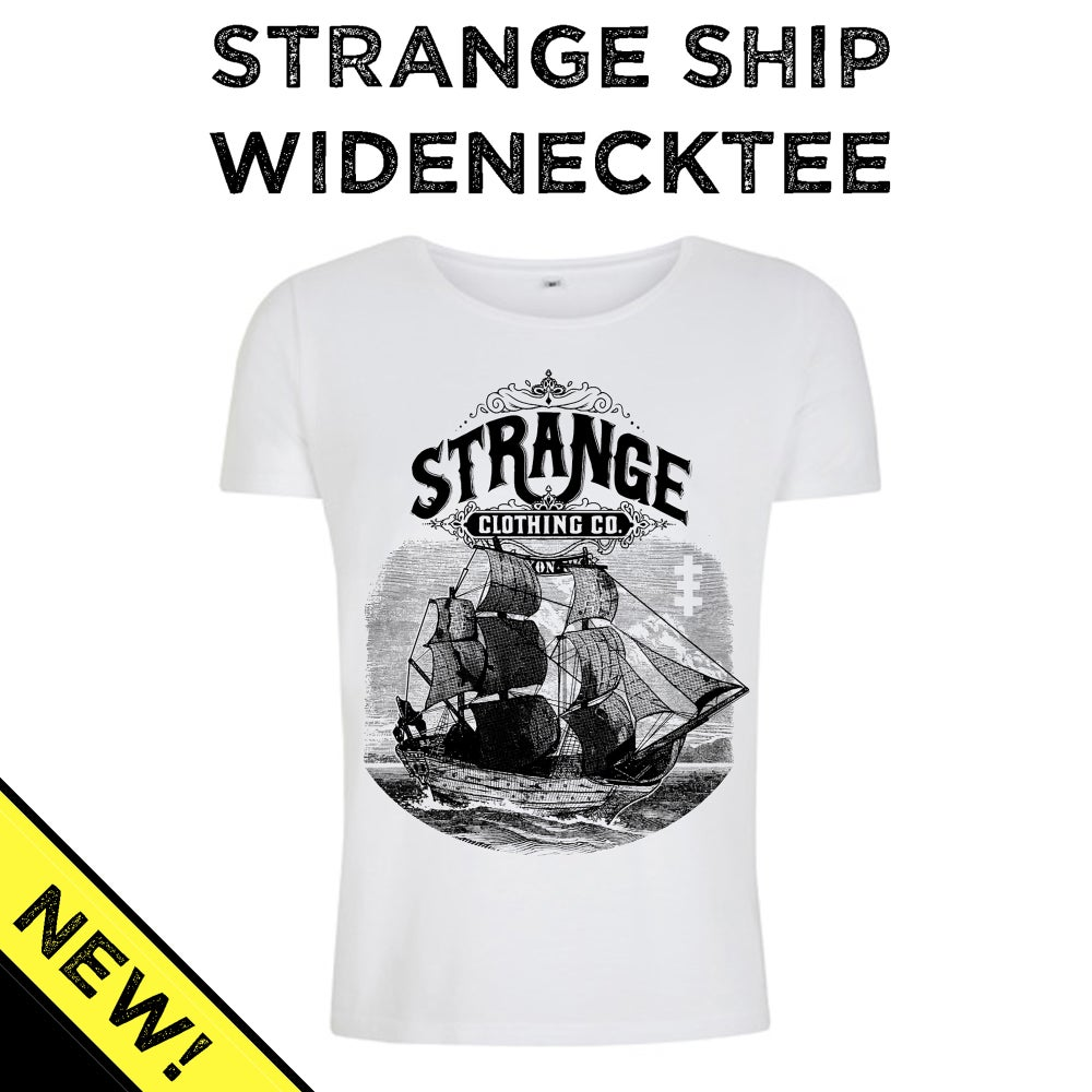 Image of Strange Ship Wide-neck tee