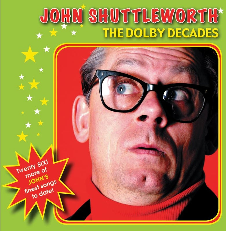 Image of John Shuttleworth - The Dolby Decades Double Vinyl LP (FRP2LP002)