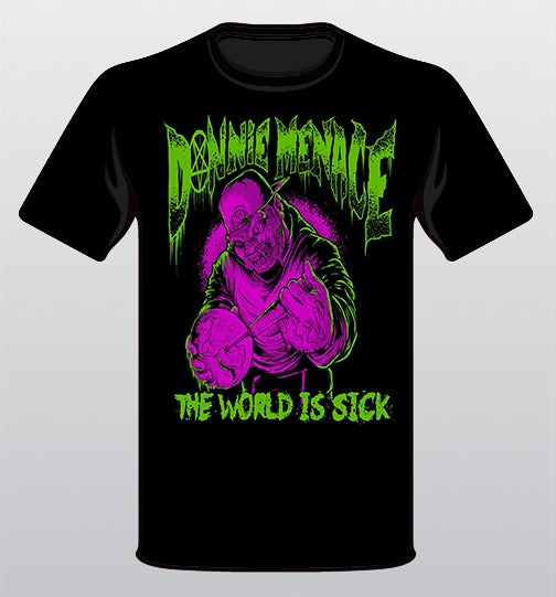 "Image of ""The World Is Sick"" T- Shirt"