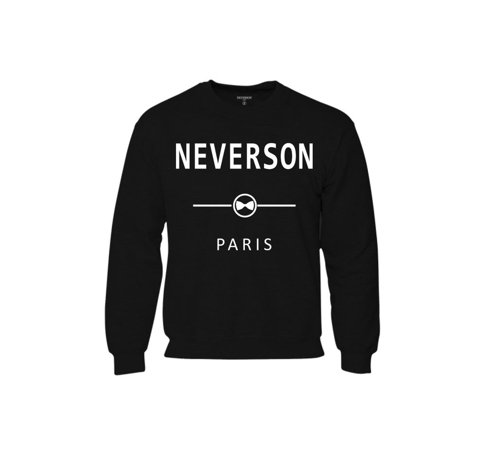 Image of Sweat Unisex Neverson Paris - Noir