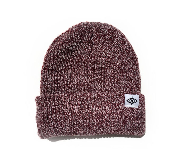 Image of WATCHCAP [ oxblood marl ]