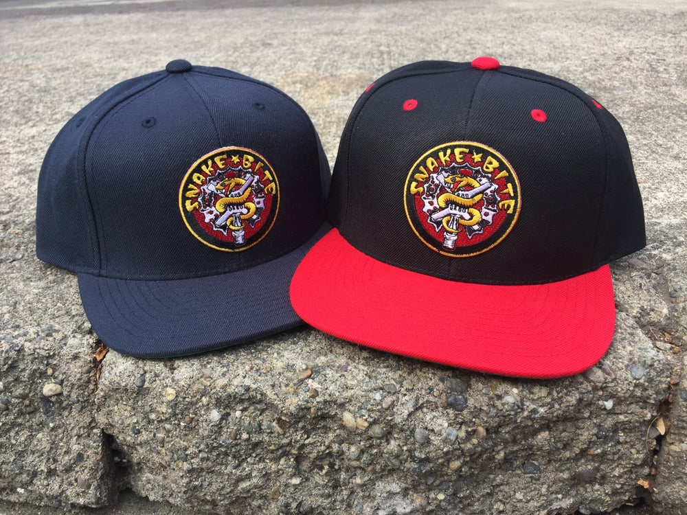 Image of Snakebite Snapback Hat