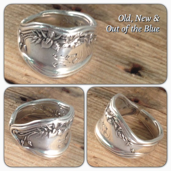 Image of Antique Sterling Silver Fork Ring