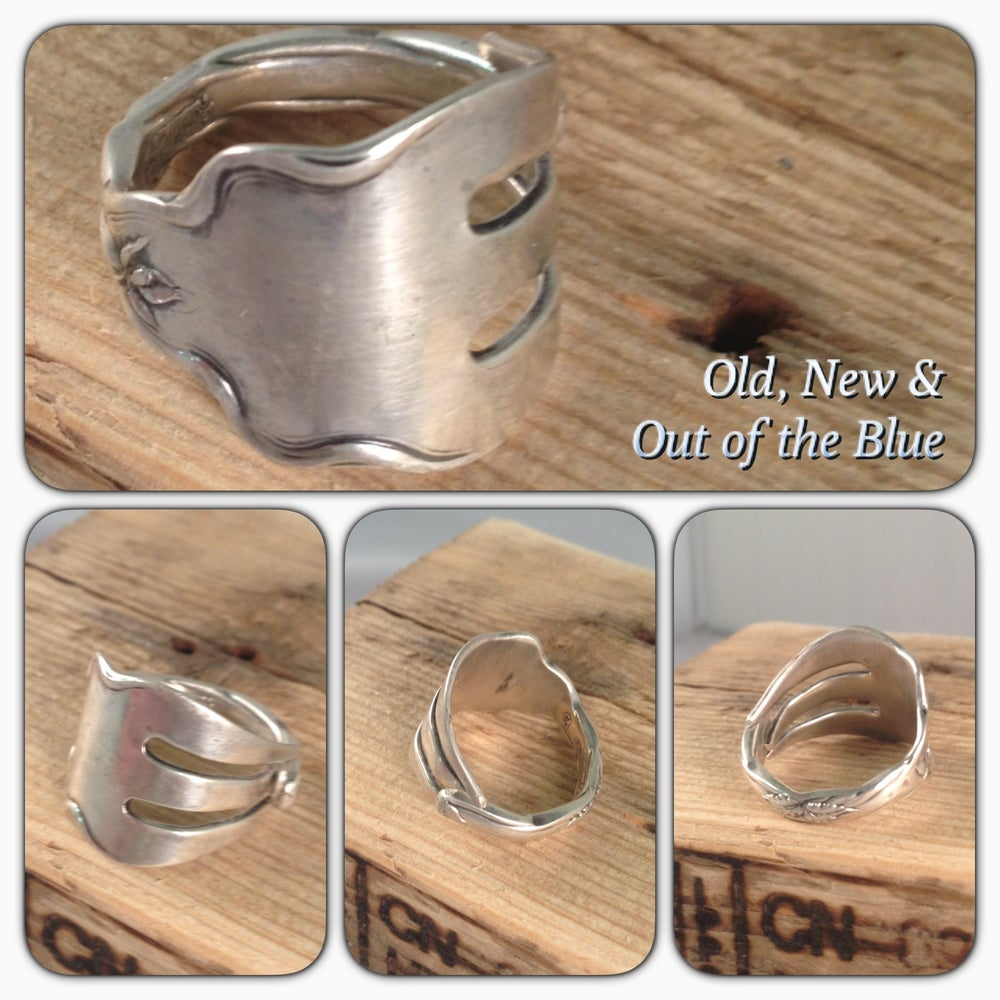 Image of Sterling Silver Fork Ring