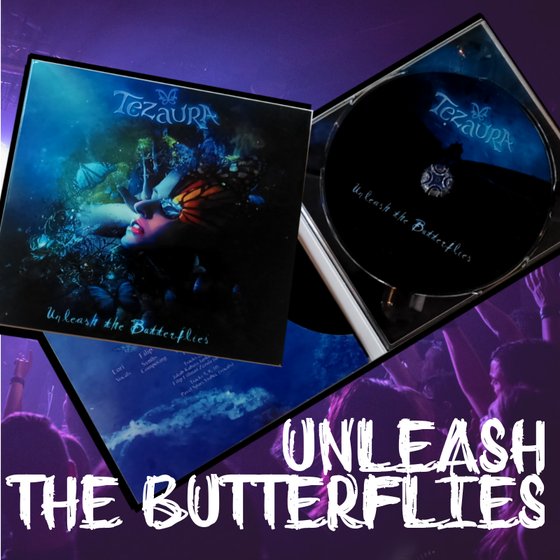 Image of CD Unleash the Butterflies