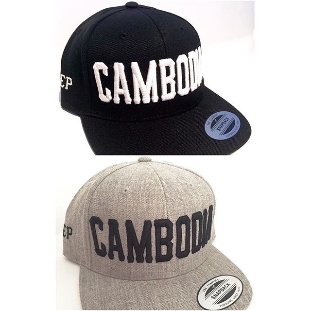 Image of Classic Rep Cambodia 3D Snapback