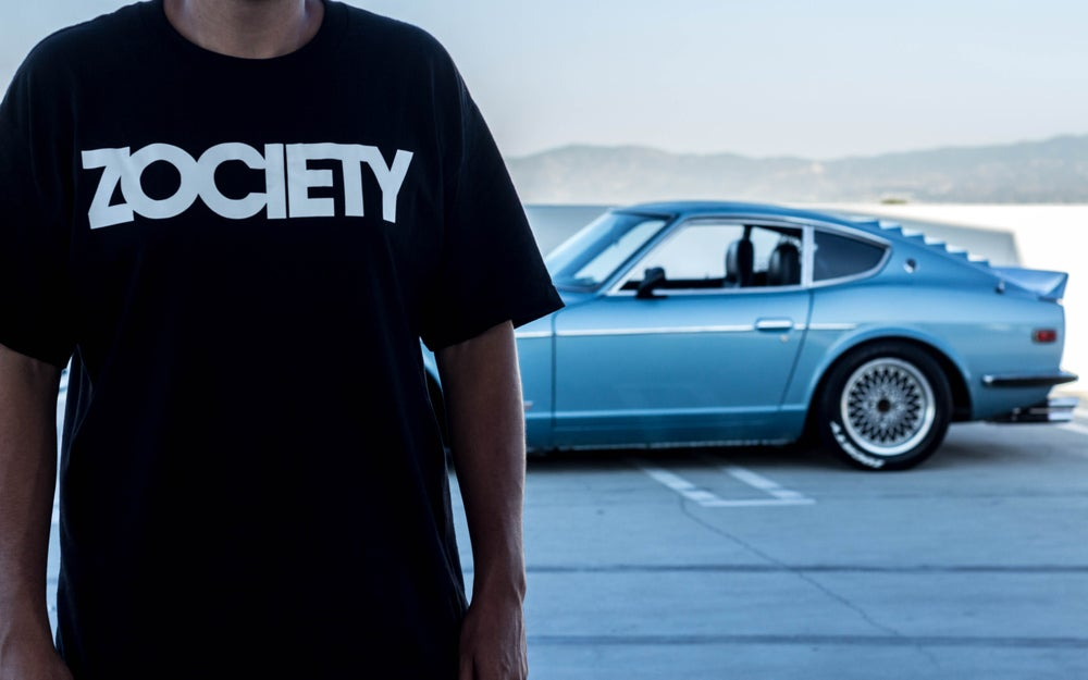 Image of ZOCIETY V1 Logo Shirt + ZOCIETY Side Window Decal