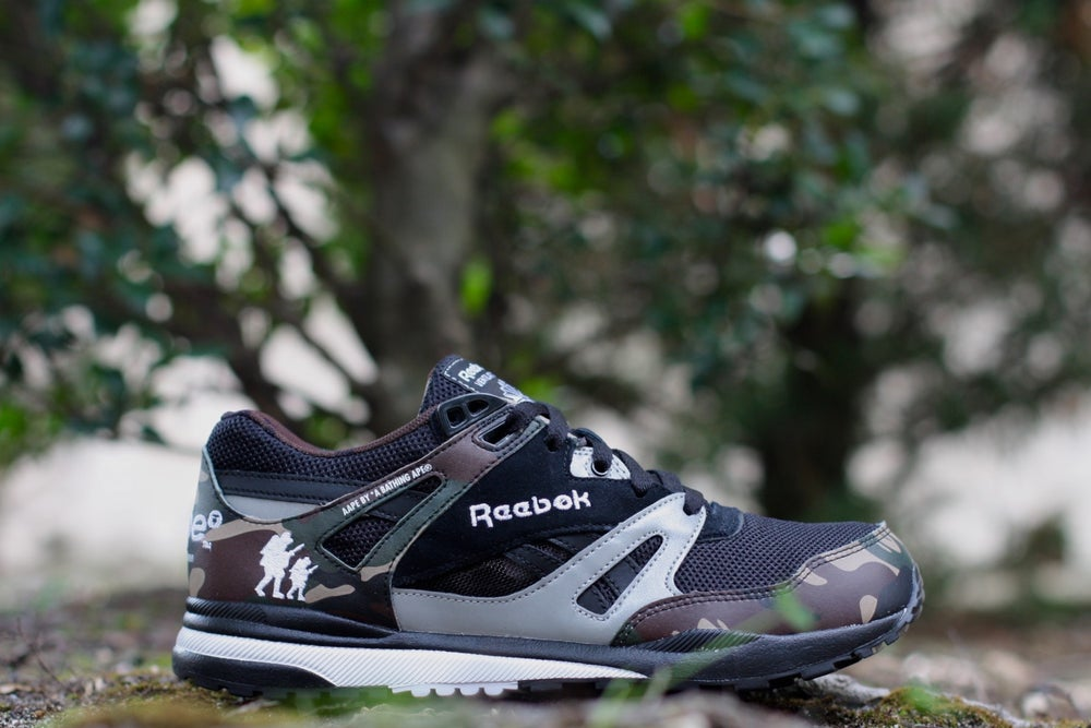 Image of REEBOK VENTILATOR X AAPE BY A BATHING APE