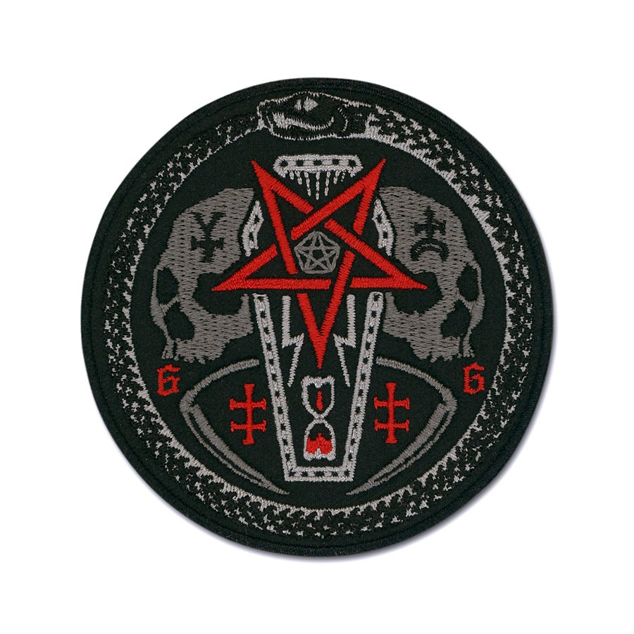 Image of Ouroboros Coffin Patch