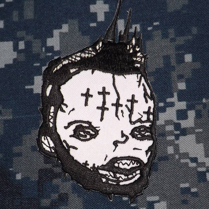 Image of Dwid Hellion embroidered patch