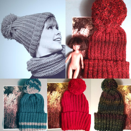 Image of BIRGIT'S BIG BOBBLE BEANIES